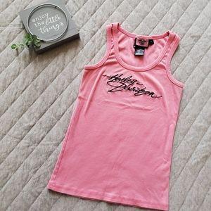 🆕 Harley Davidson pink tank top